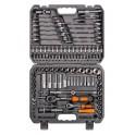 Набор инструментов универсальный 125 предметов, серый пласт.кейс (AT-125-40) AT-125-40