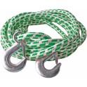Буксировочный трос ТОП АВТО шнуровой 7 т 2 крюка, 4 метра, в пакете 724МК