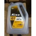Масло для бензиновых двигателей /ПЛАСТИК  KIXX G1  5W-20 SM 4L/Kixx G1 SN/CF 5W-20 4L L2058440Е1