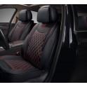 Мультимодельные авточехлы AUTOPREMIER IMPERIAL, черн/красн, кожа, карман, 10 мм п-н, 15 RIA1020