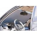 Шторка солнцезащитная на лобовое/заднее стекло, светоотражающая, раздвижная (80 см) (ASPS-FB-02) ASPS-FB-02