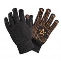 Перчатки акриловые с ПВХ покрытием, утепленные, черн. графит (1 пара), 54 гр. (ADWG016) ADWG016