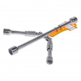 Ключ баллонный крестовой складной  (17*19*21*23мм)  (ATAB000) ATAB000