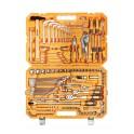 Набор инструментов универсальный 132 предмета, пласт.кейс AT-132-09