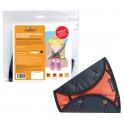 Детское удерживающие устройство, универсальное, цвет черный/оранжевый AC-HD-01