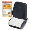 Накидка (подушка) из натурального меха на сиденье, цвет белый, 45*45см AFC-SH-05