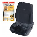 Накидка (подушка) из натурального меха на сиденье, цвет черный, 45*45см AFC-SH-04