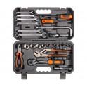 Набор инструментов универсальный 25 предметов, серый пласт.кейс (AT-25-38) AT-25-38