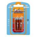 Батарейки AA HR6 аккумулятор Ni-Mh 1300 mAh 2шт. AA-13-02