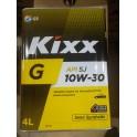 Масло для бензиновых двигателей Kixx  G 10W30  SN/CF ( 4л.) МЕТАЛЛ  (уп.4 шт.) SemiSyn L206844TR1