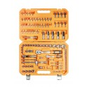 Набор инструментов универсальный 109 предметов, пласт.кейс AT-109-08