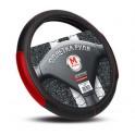 SU1200M Оплётка руля PREMIER, кожа PU, перфорированная вставка, чёрный/красный, размер (М), 1/15, SU1200M