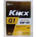 Масло для бензиновых двигателей / KIXX G1 5W-40 SN/CF TIN 4L L531344TR1
