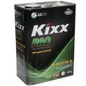 Масло моторное  GS Oil  Kixx  PAO  5W40  SN/CF ( 4л.) (уп.4 шт.) PAO-Synt
