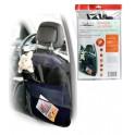 Накидка защитная на спинку переднего сидения (65*50 см), прозрачная, с карманами AO-CS-19